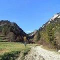 Wylot Wąwozu Szopczańskiego w Sromowcach Niżnych #góry #pieniny #TrzyKorony #WąwózSzopczański