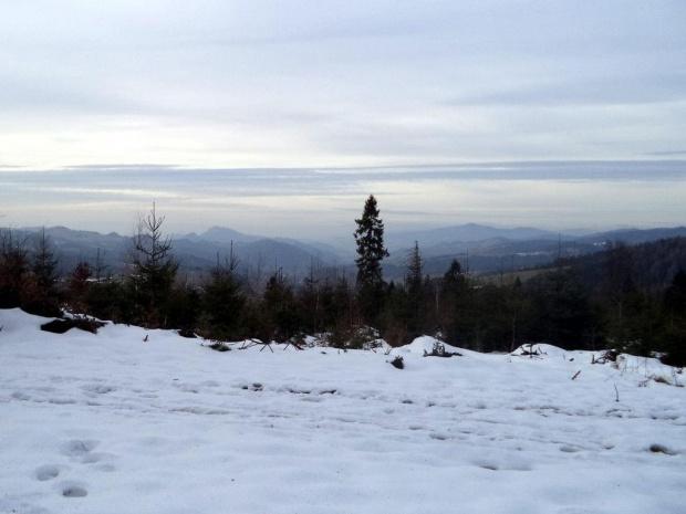 Pieniny i Lubań spod Szczoba #góry #beskidy #BeskidSądecki #RuskiWierch #obidza #rozdziela #BiałaWoda