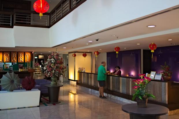 Recepcja w hotelu Discovery Beach #azja #pattaya #tajlandia