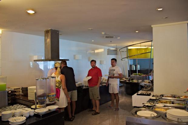 Stołówka w hotelu Discovery Beach #azja #pattaya #tajlandia