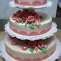 12-14 kg torcik weselny Ekrii- Róż #TortWeselny #TortyWeselne #tort #wesele #TortyOkoicznościowe