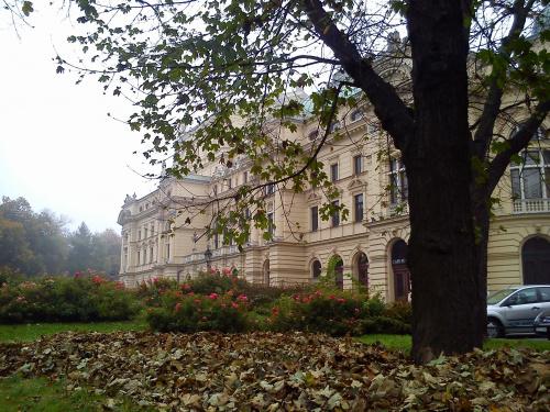 Teatr Słowackiego jesienią