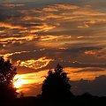 Zachodzik #ZachódSłońca #chmury #niebo