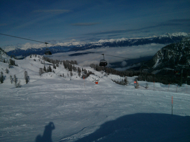Krzesełko Madritschen #Alpy #Austria #Narty #Nassfeld
