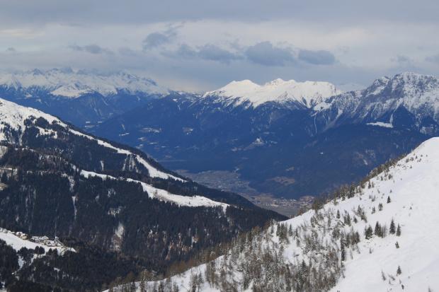 Widoki z Gartnerkofel po prostu nas urzekły #Alpy #Austria #Narty #Nassfeld