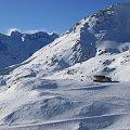 Grossglockner - Heiligenblut, zjeżdżamy z Schareck #Alpy #Austria #Narty #Nassfeld