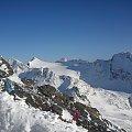 Grossglockner - Heiligenblut, po stronie Fleissalm #Alpy #Austria #Narty #Nassfeld