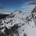 Na Gartnerkofel - widok z platformy widokowej #Alpy #Austria #Narty #Nassfeld