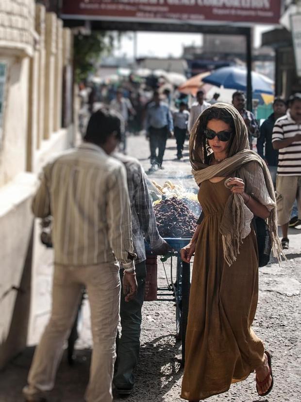 Ulica w Pushkar #Indie #kultura #ludzie