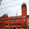 ratusz w Bazylei w Szwajcarii #architektura