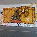 mural w przejsciu pod mostem #przyroda