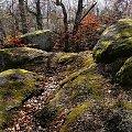 skały na górze Bismarcka - Staniszów #góry #skały