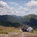 Tatry Zachodnie- w drodze na Trzydniowiański Wierch #Tatry #TatryZachodnie #góry #Lipiec2013