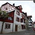 Stein am Rhein-zabytkowa uliczka #architektura