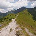 Tatry Zachodnie- na Trzydniowiańskim Wierchu #Tatry #TatryZachodnie #Lipiec2013 #góry #TrzydniowiańskiWierch