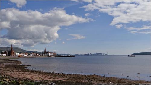 Widok na zatokę w Largs..