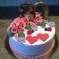 Rocznica ślubu #rocznica ślubu/tprty #okazjonalne #torty #trzydziestka