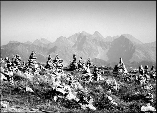 W Tatrach Zachodnich...widok z Krzesanicy [ Czerwone Wierchy ]...