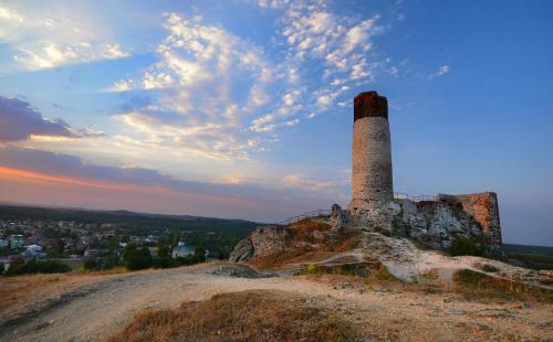 Ruiny zamku w Olsztynie