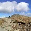 Widoka na Diablaka od Przełęczy Lodowej #góry #beskidy #BeskidŻywiecki #BabiaGóra